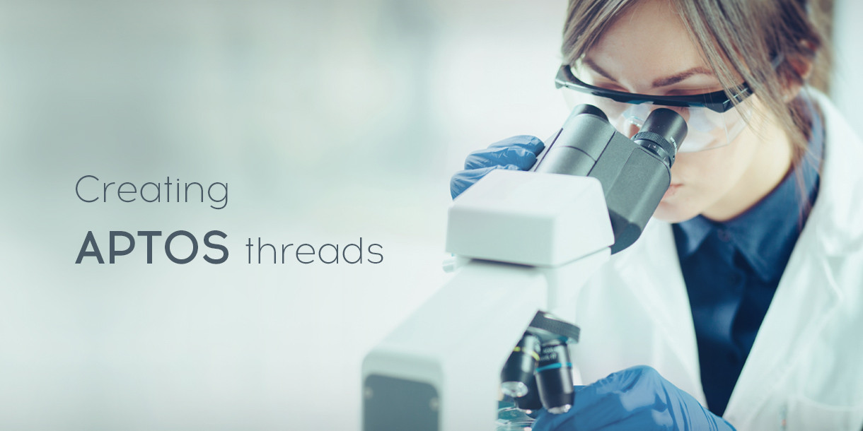 Creating APTOS threads